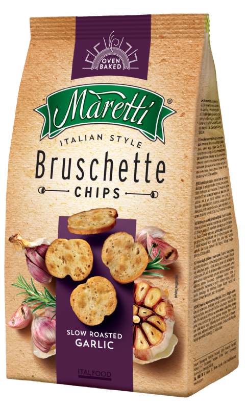 Bruschette Slow Roasted Garlic 150g